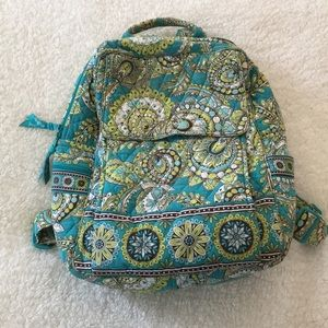Vera Bradley Peacock 🦚 pattern backpack